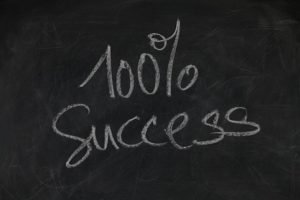 100% Success Chalkboard